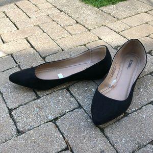 Merona Black Flats